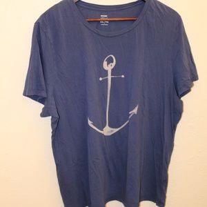 🔥Blue Old Navy Anchor shirt